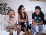 com Gilberto Gil e Armandinho