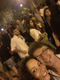 com Venício, teatrólogo, Grupo Moitará