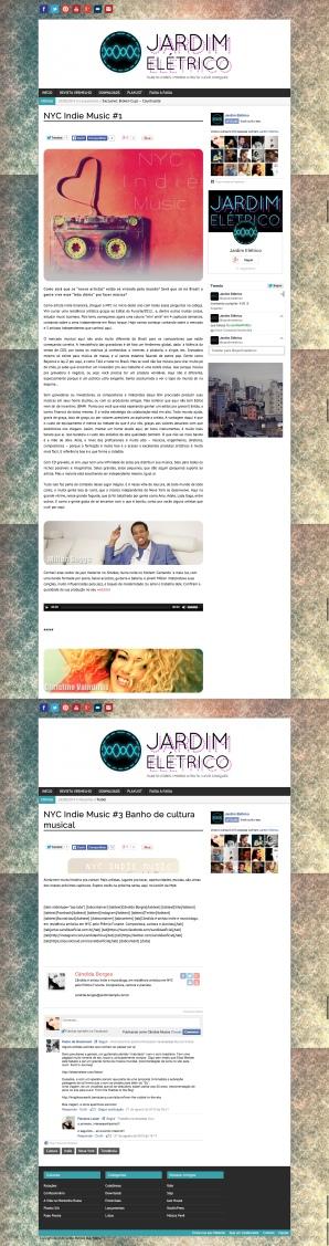 NYC Indie Music 1 Jardim Elétrico